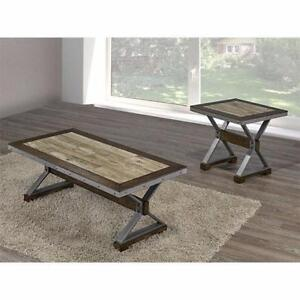 3PC COFFEE TABLE SET - ONLINE SALE - VISIT WWW.KITCHENANDCOUCH.COM FOR MORE DESIGNS! (BF-47)