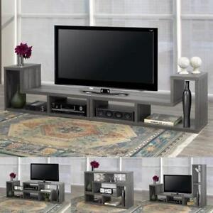 "70"" TV stand with  customization shelving (BD-1932)"