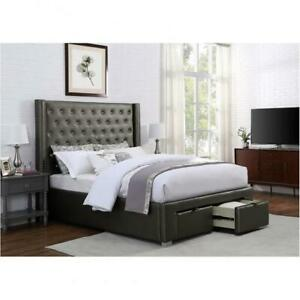 Queen Bed With Storage (BR1301)