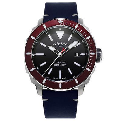 ALPINA Seastrong Diver 300 Automatic Men's Watch AL-525LBBRG4V6