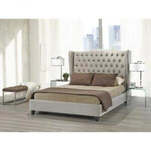 KING SIZE PLATFORM BED - GIVE CONTEMPORARY TOUCH TO YOUR BEDROOM - CALL-905-451-8999 (BD-1049)