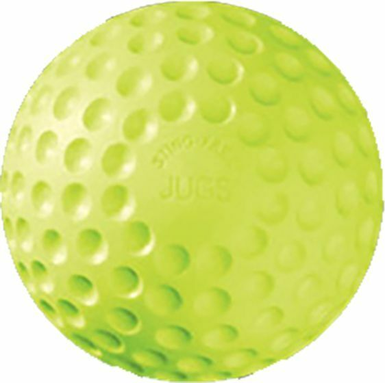 "Jugs 11"" Sting-Free Yellow Dimpled Practice Softballs (DZ)"