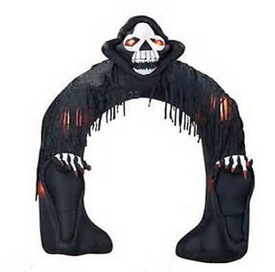 Halloween Inflatable Decoration Inflatable Halloween Arch with Grim Reaper BI