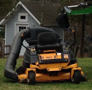 Cub Cadet RZT 50, with Grass Collector