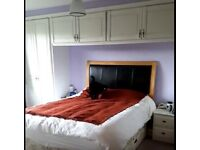 Hammonds Bedroom furniture: 3X double wardrobes, Bridge unit, 2x bed side tables and dressing table