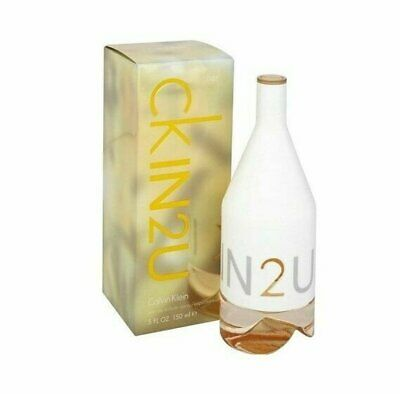 CK IN2 U HER Calvin Klein 3.4 oz EDT eau de toilette Women Perfume NEW IN2U NIB