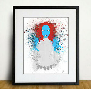 Splatter Art Prints - DC / Marvel / Star Wars / Video Game London Ontario image 7