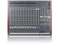 Allen & Heath Z420 4 Bus Mixer for Live Sound and Recording Including Flight Case
