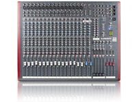 Allen and Heath Z420 USB Pro mixer with flight case