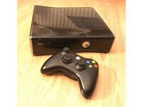 Xbox 360 Slim 250GB with controller - PERFECT boxed