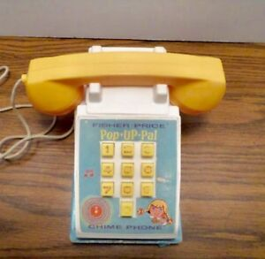 Fisher Price Vintage POP UP Phone