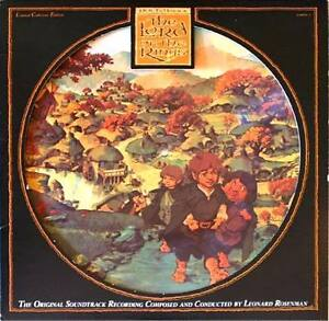 LORD-OF-THE-RINGS-SOUNDTRK-PICTURE-DISC-2LPs-Tolkien-Bakshi-OPENED