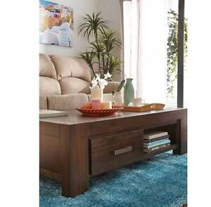 NEW KINGSTON 2 DRAWAR COFFEE TABLE . Fairfield Fairfield Area Preview