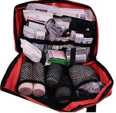 Fully Stocked Master Camping First Aid Trauma Kit Bag
