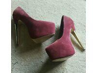 Well worn women's heels