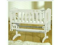 Rocking cot bed