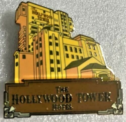 Disney The Hollywood Tower Hotel Logo Tower of Terror Pin