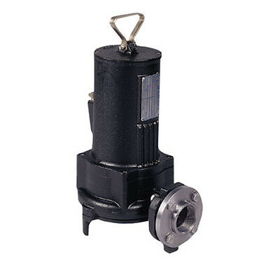 Flow Master Submersible Cutter Pump 5hp 220-415v 3p 4 Discharge 30ft. Cord