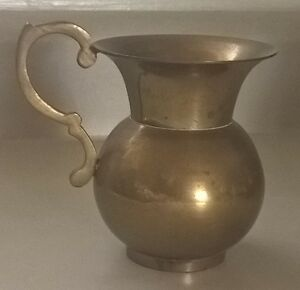 Vintage Solid Brass Handcrafted Water Drinking Pot - Lota