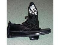 Russell and Bromley black shoes, size 5.