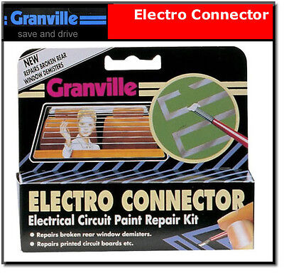 Electro Connector Heated Rear Screen Repair Circuit paint Granville Electrocure