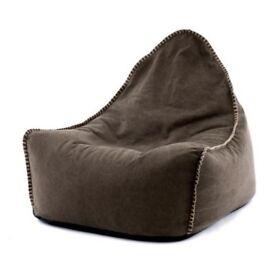 Canvas Bean Bag Seating Chair Cushion