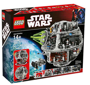 LEGO-STAR-WARS-2008-UCS-DEATH-STAR-10188-COMPLETE-SEALED-collector-series