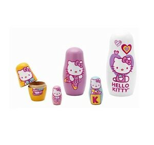 Sanrio-Wooden-Hello-Kitty-Russian-Dolls-Matryoshka-Nesting-Dolls-Sequencing-Set