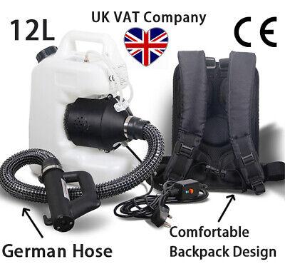 VAT Invoice Electric Fogger Fogging Machine Disinfection Sprayer WeedKiller 12L