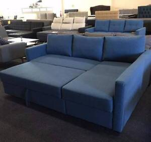 Brand New Fabric L Shape Storage Sofa Bed Couch Loung(SP124)