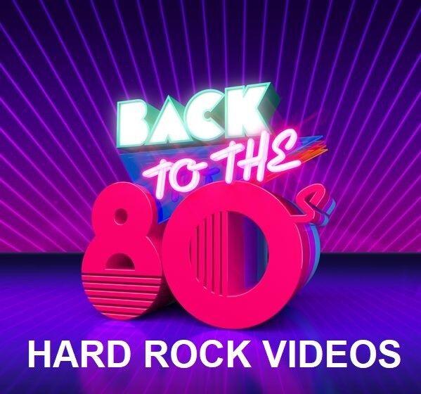 80's HARD ROCK MUSIC VIDEOS DVD–Smithereens, Loverboy, Whitesnake & MORE-51 HITS