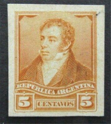 nystamps Argentina Stamp Mint Proof   L30y012