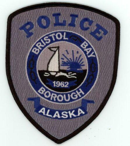 BRISTOL BAY POLICE ALASKA AK NICE NEW COLORFUL PATCH SHERIFF