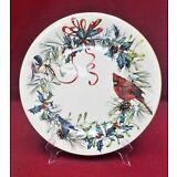 LENOX china WINTER GREETINGS pattern Dinner plate