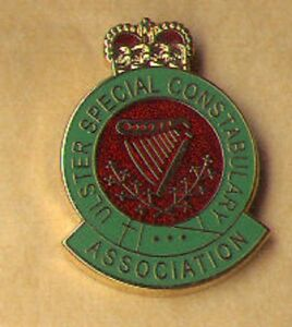 new ulster special constabulary association lapel badge b specials ruc udr rir