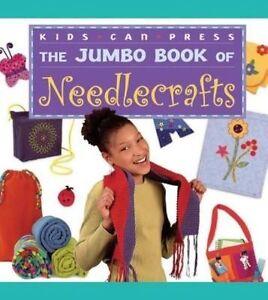 The Jumbo Book of Needlecrafts (Jumbo Books)-ExLibrary