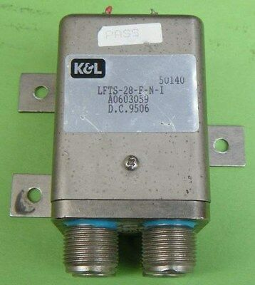 1pc KGL LFTS-28-F-N-I 28V/6GHz N High power high frequency relay
