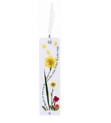 Räder Design Blumenlesezeichen