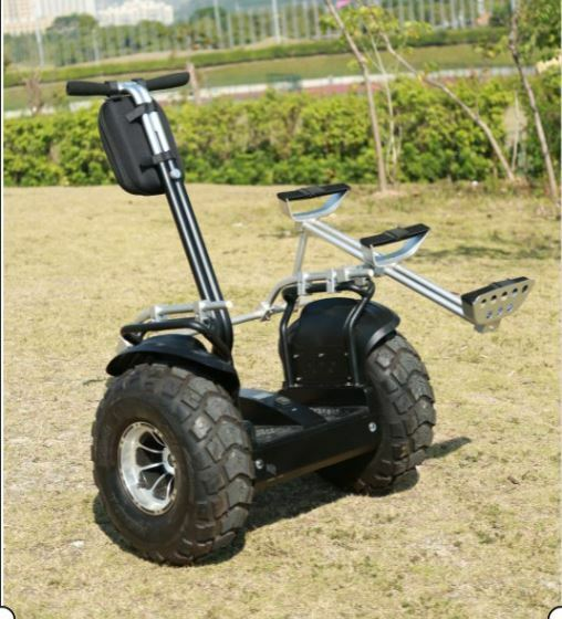 Angelol 2000w/48v 19in. Off Road Electric Self Balance Golf Cart Vehicle