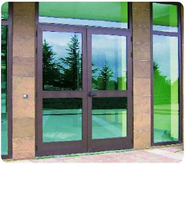 Pellicola Adesiva Specchio Privacy Anti Sguardo Cm. 75x150 Per Porte e Finestre
