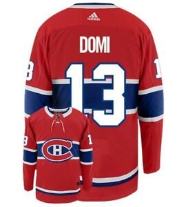 #13 DOMI MONTREAL CANADIENS JERSEY / CHANDAIL  tickets $60