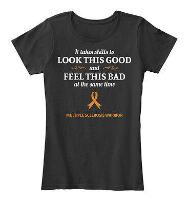 Multiple Sclerosis Skills  2130667  It Takes Skills  Womens Premium Tee T Shirt
