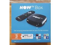 Brand New NowTV box, complete with 3 months free entertainment pass.