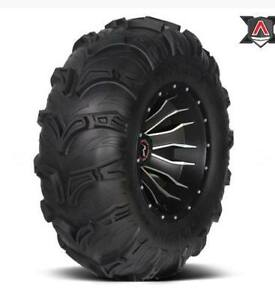 "DEAL$309 CAN 26"" setof4 TUFF MUDDER tires  at ATV TIRE NATION"