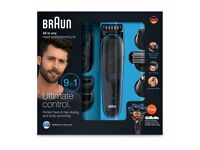 Less than Half price New Braun 9 in 1 Wet & Dry Grooming set still in box