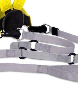 trunki toddlepak Reins - yellow - Helps toddlers to walk