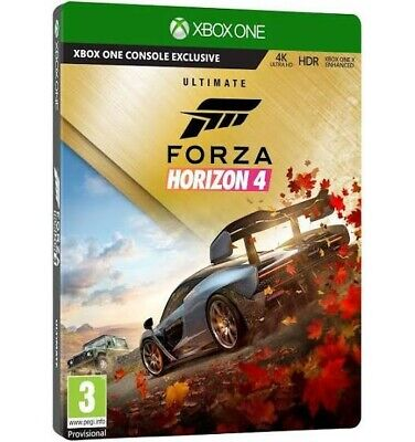 Forza Horizon 4 and 3 Ultimate Editions Bundle Xbox one plz read info RRP£139.99