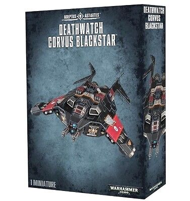DEATHWATCH CORVUS BLACKSTAR Space Marines Games Workshop Warhammer 40K+Ship FAST