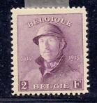 Belgique 1919 - King Albert I 'Helm' 2Fr - OBP / COB 176