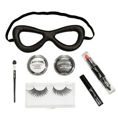 DC Comics Harley Quinn Complete Cosmetic Makeup Kit Cosplay](Dc Comics Cosplay)
